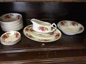 Woods & sons ironstone dishes