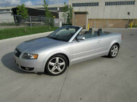 2004 Audi A4 Convertible ,Leather,Up to 3 years warr. Certified.