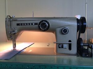 Consew Industrial sewing machine Zigzag and straight stitch