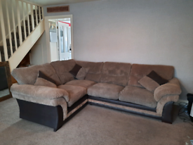 Matching L shape and 2 seater sofas
