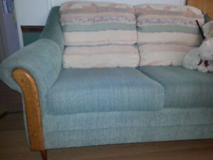 Pastel couch and loveseat - must take both