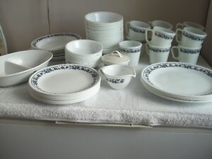 set of dishes...Corelle by Corning
