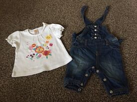 Girl outfits upto 3 months