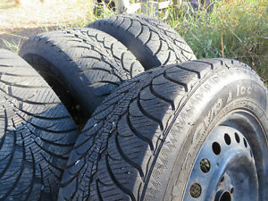 4 Good Year Winter Tires 225 60 R16