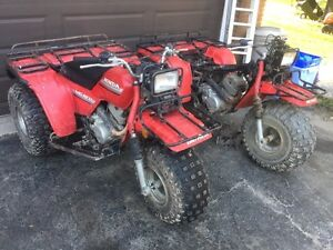 Honda big red with parts trike