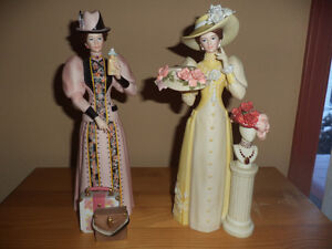 2 figurines de Mme Albee Award