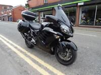2012 12 Plate Kawasaki GTR1400 ABS 9173 miles with 3 part luggage