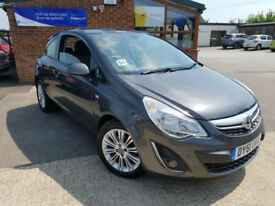 2012 Vauxhall/Opel Corsa 1.2i 16v ( 85ps ) ( a/c ) PETROL SE PX WELCOME