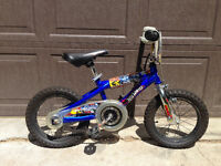 "Hot wheels 14"" bike"
