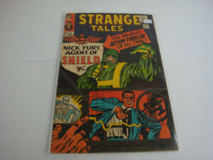 Marvel comics 1960, Strange Tales #135 SHIELD et Nick Fury