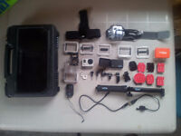 GoPro Hero 3 Black Edition barley used with tons of Accessories