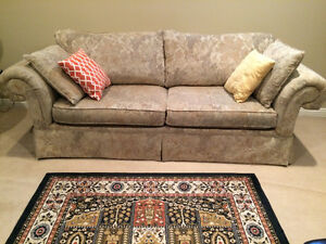 MOVING MUST SELL - 4 Piece Sofa, Loveseat, Chair and Ottoman
