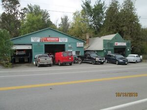 Auto Repair Garage / Shop With Buildings, Land, and Equipment