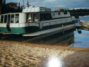 Houseboat Rental 3 hours from Winnipeg in Vermilion Bay Ontario