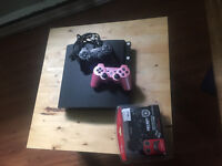PS3 w/ 2 controllers, charging cords