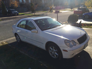 2001 Mercedes Benz C240 6-speed manual