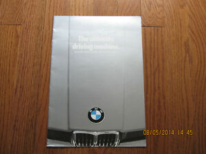 1979 BMW Specification Brochure London Ontario image 1