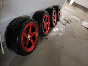 ★★20 INCH MAGS/ MAGS 20 PO 20 inch 5x120 RED RTX★★