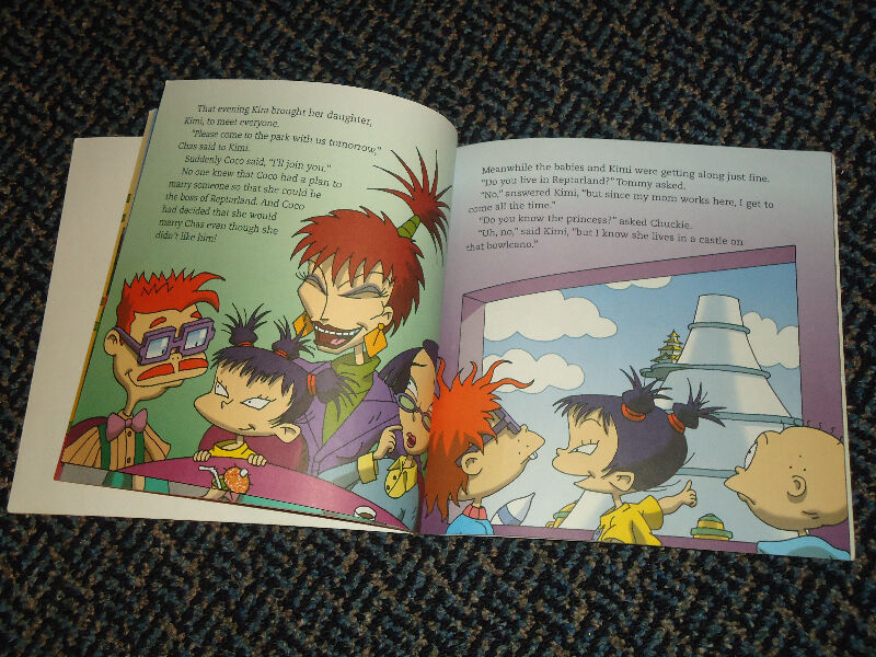 A Dream Come True Nickelodeon Rugrats In Paris Paperback  Children  Young Adult -2073