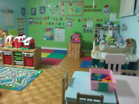 1 spot subsidized homedaycare in Pierrefonds  $8.25 a day