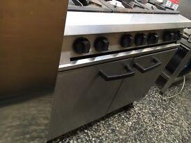 Falcon 6 burner cooker