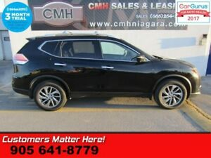 2015 Nissan Rogue SL  AWD NAV LEATHER ROOF CAMERA PWR-GATE POWER