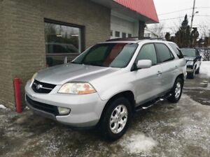 Acura MDX AWD 7 PASSAGERS CUIR TOIT 2002