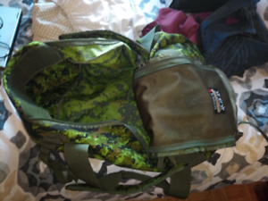 Canadian military dufflebag