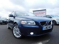 2012 12 VOLVO V50 1.6 DRIVE SE LUX EDITION S/S 5DR 113 BHP DIESEL