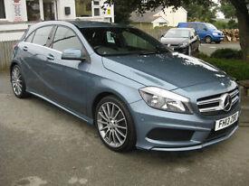 2013/13 Mercedes-Benz A Class A180 CDI BlueEFFICIENCY AMG Sport 5dr FDSH