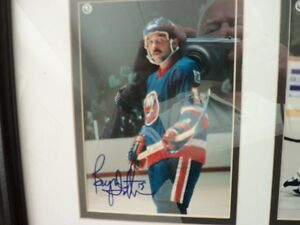 mario lemieux-glen sather and brian trottier autograph Kitchener / Waterloo Kitchener Area image 6