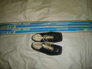 SKIS, BOOTS.X-COUNTRY.JUNIOR? NEW/ANTIQUES. update 30 jan 2015