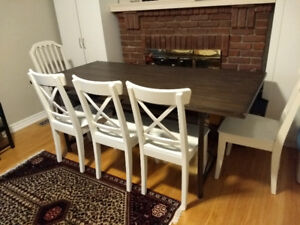 Dining table only (The Brick)