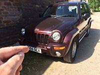 Jeep Cherokee crd, 12 months mot 86000 mi