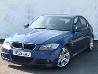 2009 BMW 3 SERIES 318D M SPORT 2.0 DIESEL AUTOMATIC FULL SERVICE HISTORY LAST AT