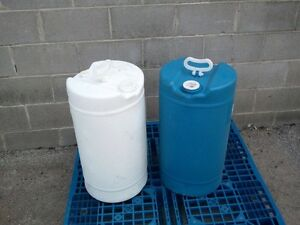 15 gallon plastic drums available now London Ontario image 7