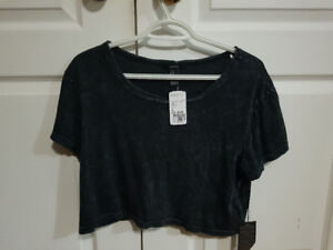 3 x Forever 21 Summer Crop Tops (Size M) BRAND NEW