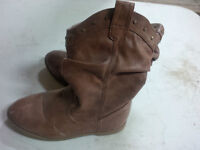 Brown Child's Slouch Cowboy Boot