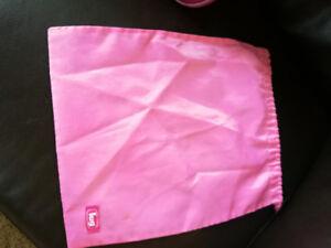 Lug bag. Pink.