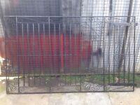 Metal garden gate driveway gates wrought iron gates