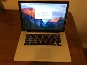 Macbook Pro 15, early 2011