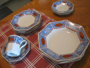 Mikasa Fine China Cloisonne Set of Dishes