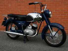 KAWASAKI B8S 150cc 1965 MOT'd SEPTEMBER 2017 FOUR SPEED MANUAL