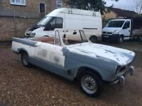 1971 Triumph HERALD 13/60 convertible SPARES OR REPAIR