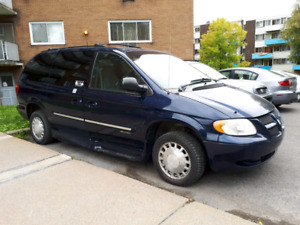 2004 Dodge Grand Caravan Adapté wheelchair chaise roulante