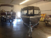 2014 thunder jet northern jet boat low hours excellent shape