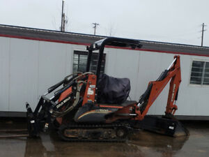 Ditch Witch XT1600 Backhoe excavator Skidsteer