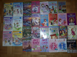 Magic tree house books, Avalon, Junie B.Jones....