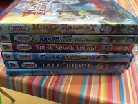 Thomas & Friends Dvds , king of the railway, blue mountain mystery, tale of the brave