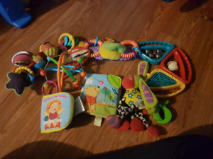 Baby toy/teething toy lot #1